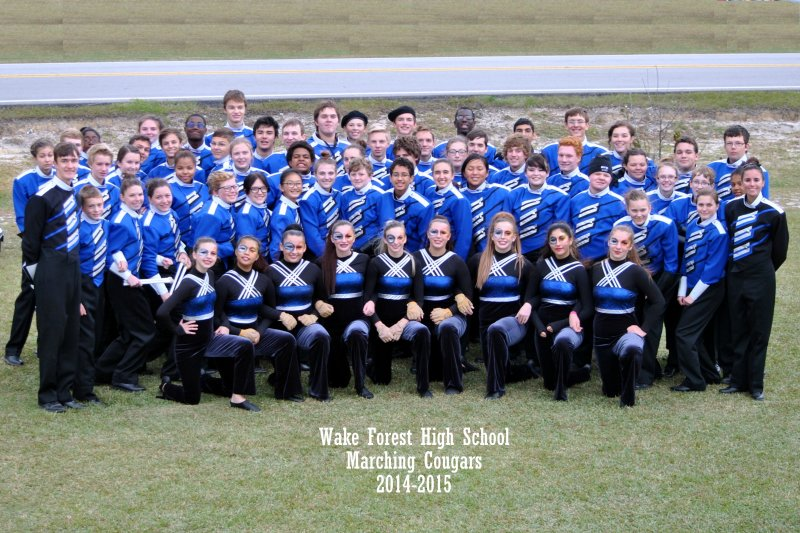 Wake Forest HS Band 2014