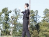 Drum Major on stand