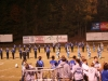 Marching band performance