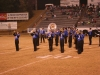 Marching band field performance