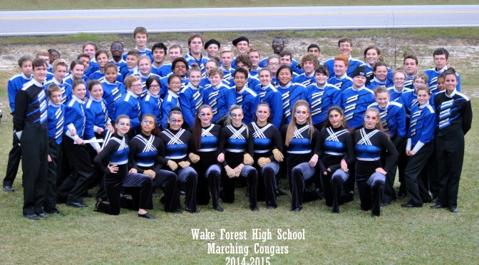 wake forest band competition