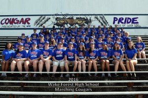 WFHS Marching Cougars6 2016